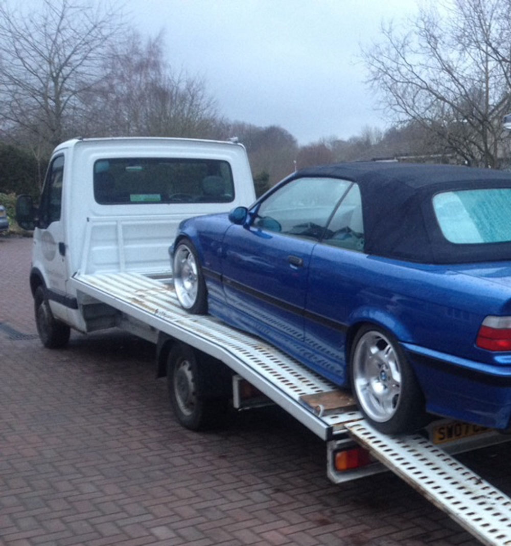 BMW Recovery in Grosmont